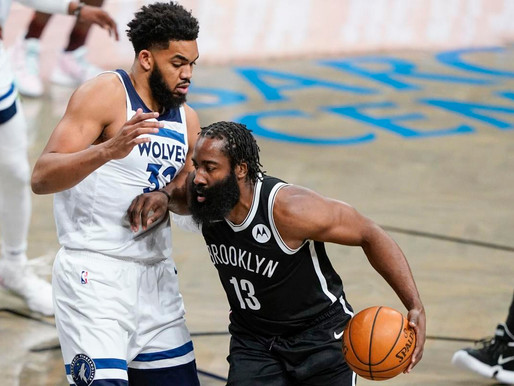 Nets Notes: Harden records another triple double, Nets top Wolves