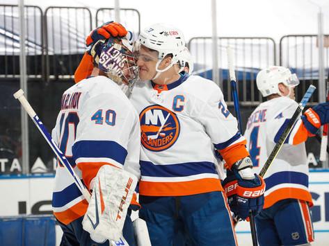 Islanders Edge: Varlamov a brick wall, Isles rally in 3rd to defeat rival Rangers