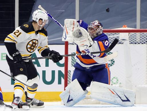 Islanders Edge: Varlamov Earns Second Consecutive Shutout, Isles blank Bruins 1-0