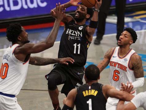 Nets Notes: Irving, Green lead Nets past Knicks in season series finale