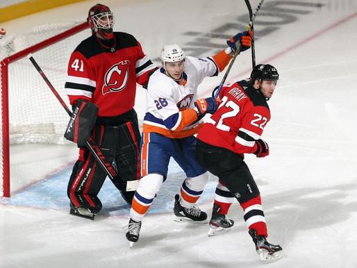 Islanders Edge: Islanders Scoring Non-Existent, Shut Out by Devils 2-0