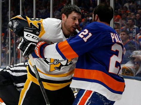 Islanders Edge: Pens take 2-1 series lead in back and forth scoring affair