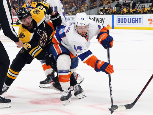 Islanders Edge: Isles survive Bruins' 3rd period surge, victorious in overtime