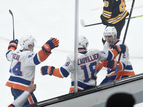 Islanders Edge: Isles show mettle, improve to 5-0 against Boston