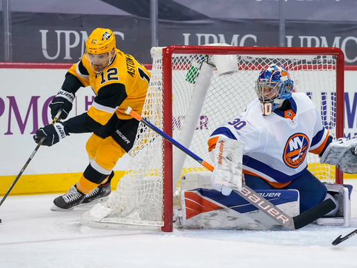 Islanders Edge: Tough night in Pittsburgh
