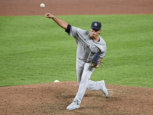 Sluggish Yankees defeated by high powered Toronto offense