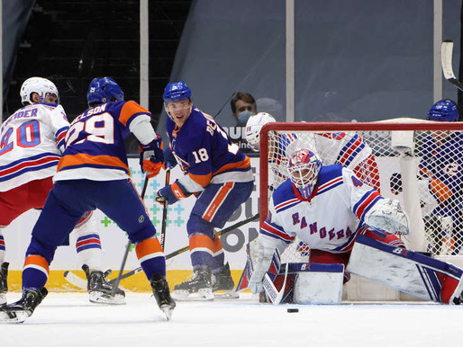 Islanders Edge: Sluggish Isles fall to Rangers at home