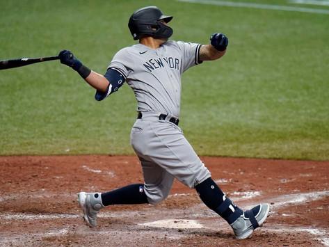 Yankees avoid sweep, top Rays in extras