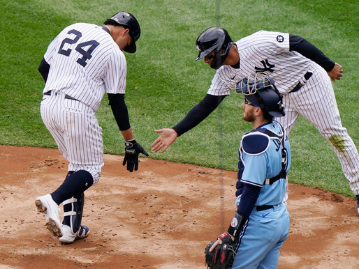Yankees strand runners, drop Opening Day matinee to Blue Jays in extra innings