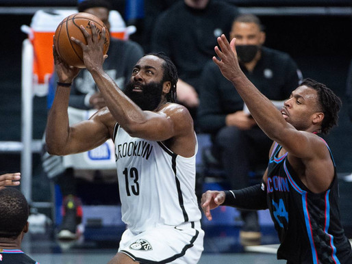 Nets Notes: Harden and Irving lead Nets to third straight victory