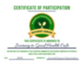 PPC RC CertificateJourneytoGoodHealth-pa