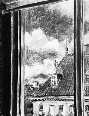 Amsterdam view from window