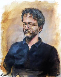 Brief portrait of a man