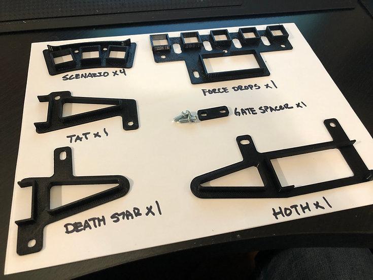 Stern Star Wars Pinball light baffle kit