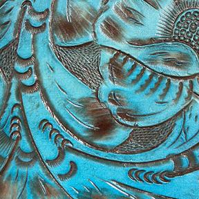 Tooled Turquoise