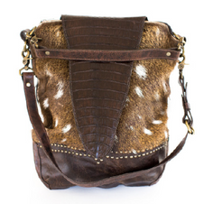 Style 2036H G Concealed Bag w/Caiman Flap