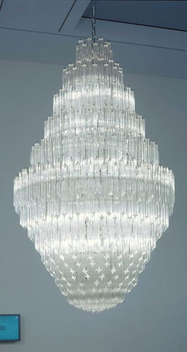 Inspiration - Cerith Wyn-Evans--chandelier