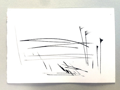 Axe and ink sketches - On the Hill