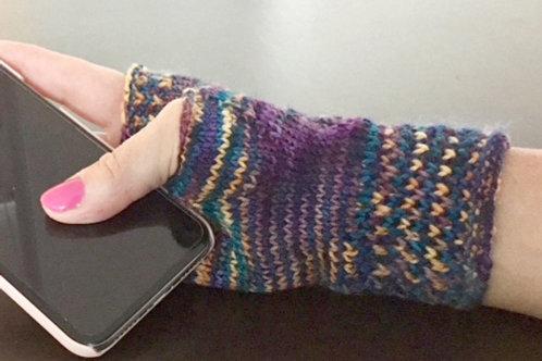 """Knit them in a Weekend"" Wrist Warmers"
