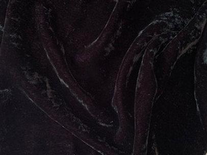 Silk Rayon Velvet - Ebony