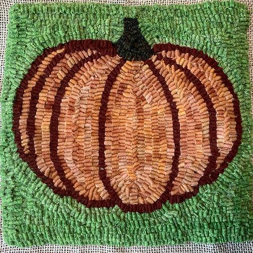 """Rug Hooking Kit - """"Pumpkin"""""""