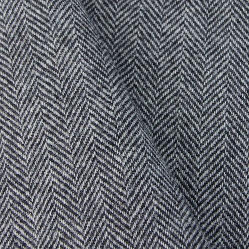 Black & White Herringbone