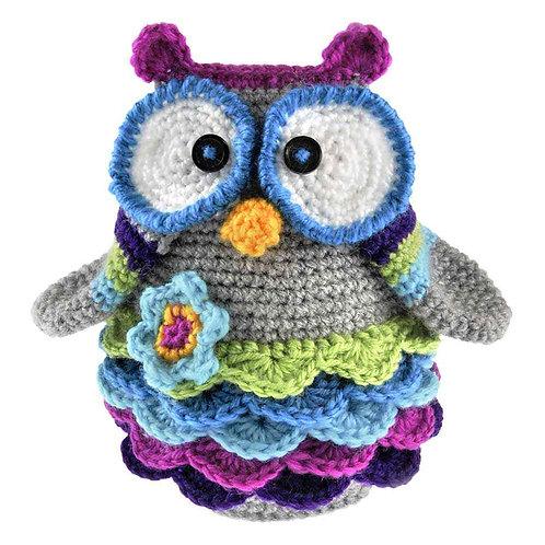 NEEDLELICIOUS Complete Crochet DIY Kit - OWL