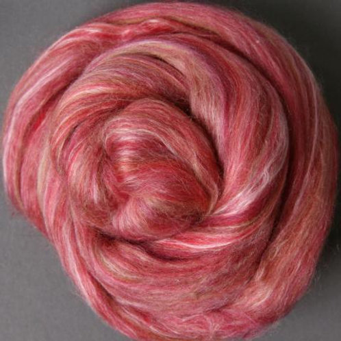 Silk/Merino Bland - Pomegranite