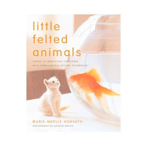 BOOK - Little Felted Animals