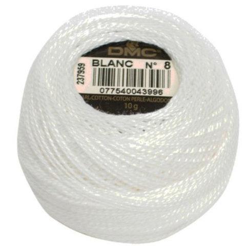 DMC #116-8 Pearl Cotton Size 8 (80m) Thread Balls