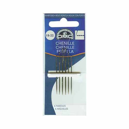 DMC #1768/1 - Chenille Needles Size 18-22