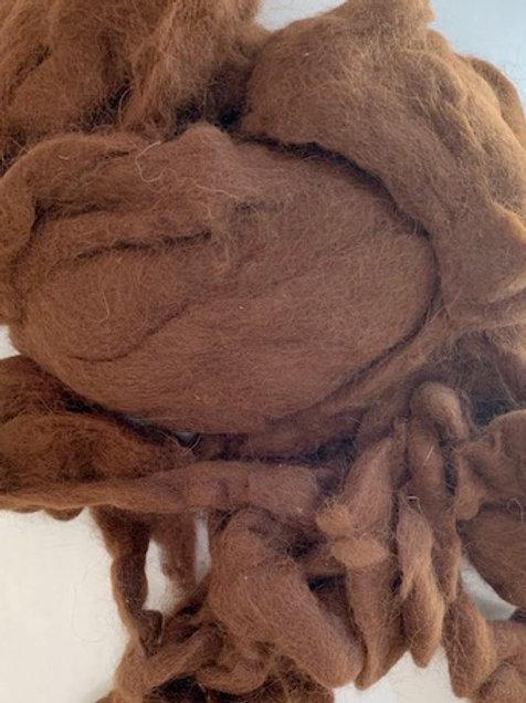 Brown Alpaca Roving