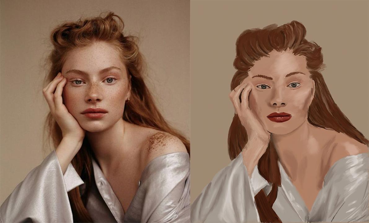 Lighting Portrait Study