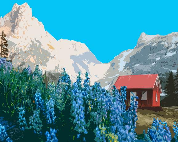Mountain Postcard