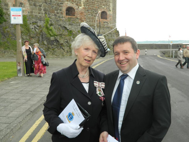 "Swann congratulates Lord-Lieutenant on ""well deserved CVO"""