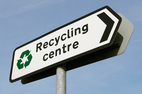 "Swann praises ""highly efficient"" recycling centre"