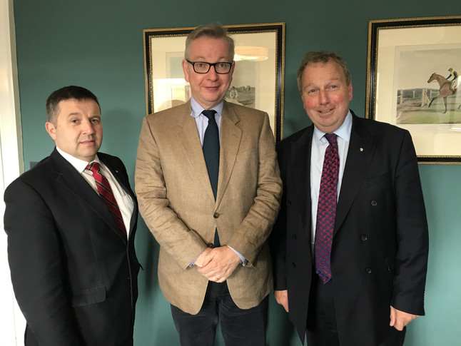 Swann welcomes Gove commitment to continued funding for NI agri-food sector