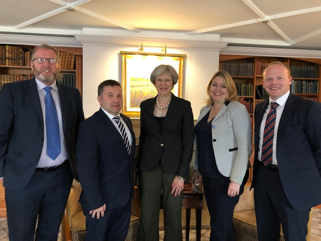 Ulster Unionists call on the Prime Minister to take control of the situation in Northern Ireland