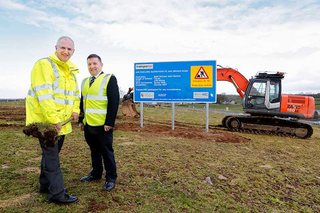 Swann welcomes official opening of A26 Dualling Scheme