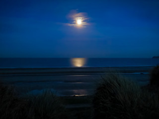 Moonrise at Portmarnock (phone)
