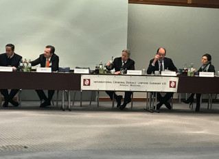 ADC Membersattend the International Criminal Defence Lawyers -GermanyConference in Berlin