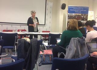 Building a Case Advocacy Training