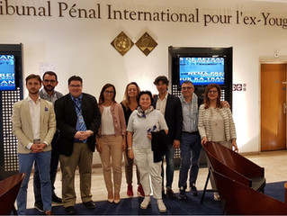 Group of Lawyers from Ancona Visit the ICTY/MICT