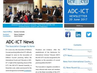 ADC June Newsletter Published