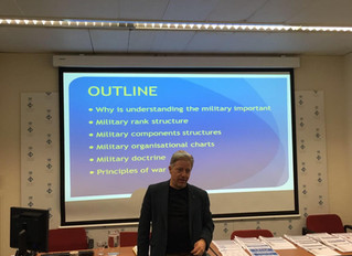 Advocacy Training - Understanding the Military and Examination of Military Witnesses