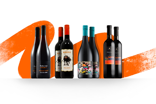 Foxy's 8 Bottle - Red Wine Selection
