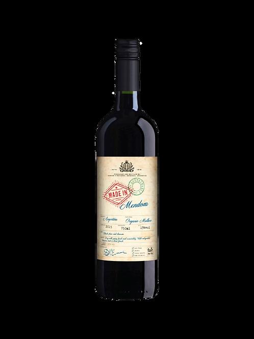 Made in Mendoza Organic, Malbec. Argentina