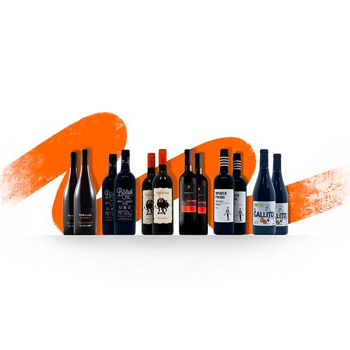 Foxy's Full & Fruity Red Selection - 12 Bottles