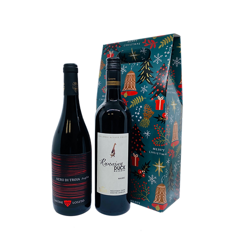 Foxy Full Red Wine - Christmas Gift Set