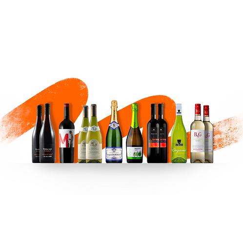Foxy's Premium 12 Bottle Selection